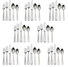 Reed & Barton Silver Echo 18/10 Stainless Steel 40pc. Set (Service for Eight)