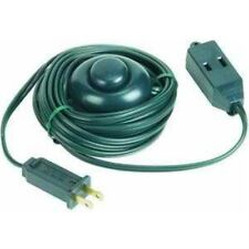 Power Cord with Foot Switch, 15' 18/2 Green