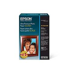 Epson Ultra Premium Photo Paper Glossy 4x6 60 Sheets