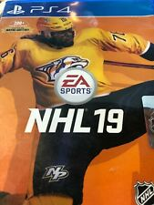 NHL 19 PLAYSTATION 4(PS4) complete game + case + artwork + insert