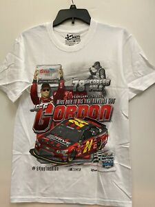 Jeff Gordon #24 Nascar Chase 78th Career Pole Win 2015 Men's Shirt Size Large