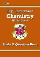 KS3 Chemistry Study & Question Book - Higher by CGP Books (Paperback book, 2014)