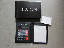 Eaton Calculator & Address Book with Pen & Card Holds Eaton's Department Store