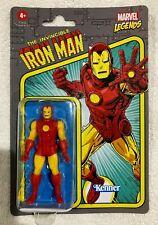 "HASBRO Marvel Legends IRON MAN 3.75"" Figure RETRO Line  **NEW**  Avengers"
