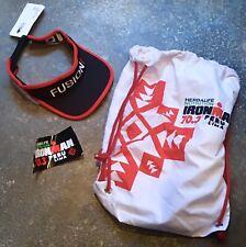 Ironman 70.3 Peru Transition Bag Lima + Fusion Visor New Tri