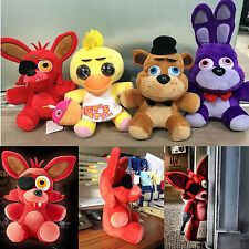 "10"" Five Nights at Freddy's 4 FNAF Horror Game Plush Dolls Kid Plushie Xmas Toys"