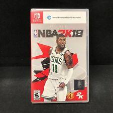 NBA 2K18 (Nintendo Switch) BRAND NEW / Region Free