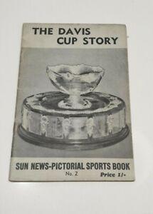 The Davis cup story 2 australiana old vintage magazine brochure sun news tennis