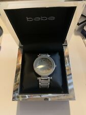 Bebe Women Watch Style BEB5701 Silver/taupe