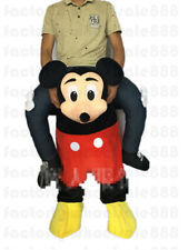 Halloween Mickey Mouse Mascot Costume Carry Ride On Piggy Back Dress Adults 2018