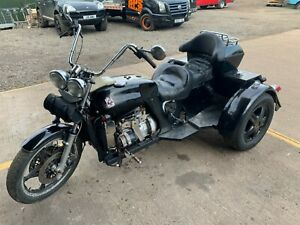 1979 Reliant Robin Trike conversion Tricycle 850cc black easy project barn find
