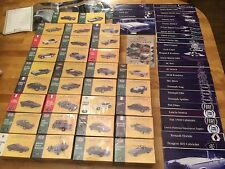 Atlas 1:43 Classic Sports Cars - Full Set In Unopened Mint Collectors Condition