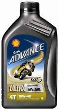 HUILE MOTEUR MOTO SHELL ADVANCE 4T ULTRA 10W40 - 1L