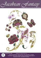 *Jacobean Fantasy* embroidery kit - Rajmahal art silk kit