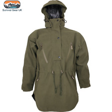 Jack Pyke Argyll Smock Mens Waterproof Jacket Hooded Coat Moss Green Size 2XL