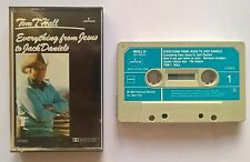 Cassette Tom T. Hall ‎– Everything From Jesus To Jack Daniels Holland Mercury Nm