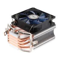 CPU Cooler Cooling Fan Heatsink Copper Heat Pipe 2500RPM Hydraulic for Intel