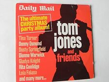 TOM JONES AND FRIENDS PROMO CD THE ULTIMATE CHRISTMAS PARTY ALBUM