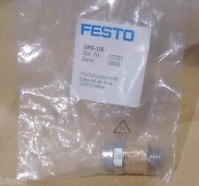 Festo 10351 GRE-1/8 Exhaust Flow Control Valve new