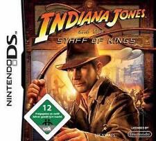 NINTENDO DS 3DS INDIANA JONES UND DER STAB DER KÖNIGE   Neuwertig
