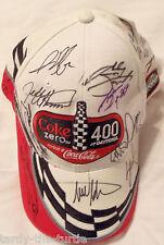 2008 Daytona Coke Zero Hat Autographed Multiple Times July 5, 2008 14 Autographs