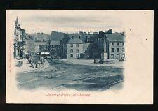 Derbyshire Derbys ASHBOURNE Market Place Used 1904 PPC