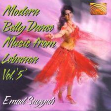 New: EMAD SAYYAH - Modern Belly Dance Music From Lebanon Vol. 5 CD