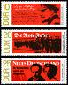 EBS East Germany DDR 1968 November Revolution Anniversary Michel 1417-1419 MNH**