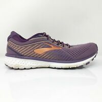 Brooks Womens Ghost 12 1203051B579 Purple Running Shoes Lace Up Size 9.5 B