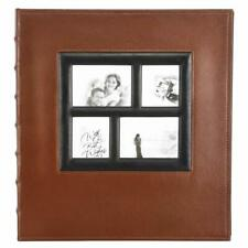 Benjia Photo Albums Self Adhesive Pages Extra Large Leather Vintage Photo Album