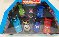 Disney Store Exclusive Disney Pixar Cars LIGHT UP DIE CAST Tokyo Drift Set NIB