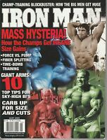 MAY 2005 IRON MAN vintage body building magazine ARNOLD SCHWARZENEGGER