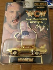1991 Racing Champion 24K Gold WCW Coldberg Superbird