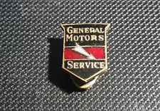 General Motors GM Button Service Enamelled 12x16mm Old + Original