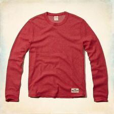 Hollister Cotton Crew Neck Slim Casual Shirts & Tops for Men