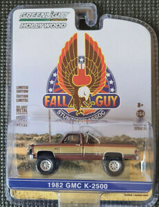 GREENLIGHT Hollywood Series 26 - THE FALL GUY 1982 GMC K-2500 Truck 1:64 Diecast