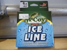 McCoy Ice Line 6 lb test 125 yards green NIP