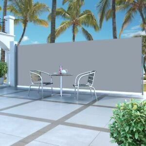 5m Side Awning Outdoor Patio Garden Sunshade Privacy Large Retractable Screen
