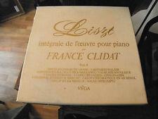 Liszt - piano par France Clidat - vol. 4 - 3 disques vega