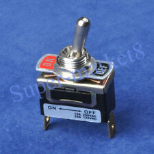 10pcs/lot SPST Heavy Duty ON OFF Toggle Switch Tube Amp Guitar