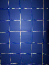 "25' x 12' WHITE SQUARE MESH SOCCER IMPACT NET  4""  #36 VOLLEYBALL NETTING"