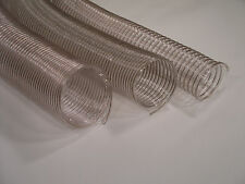 """5"""" x 4' Wire Corrugated Hose Dust Collection Heavy"""