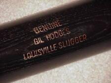 Gil Hodges H&B Vintage Game Bat Brooklyn Dodgers Mets