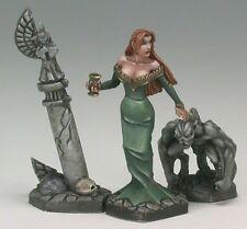 Siobhana Vampire Noble Reaper Miniatures Dark Heaven Legend  Gargoyle Gravestone