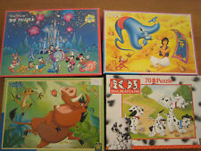 Lot de 4 puzzles Disney 100 et 70 p