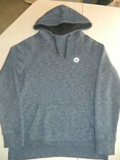 SWEAT A CAPUCHE BLEU CHINE HOLLISTER - TAILLE S
