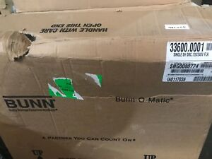 NEW BUNN Model 33600.0001 - Single SH DBC Soft Heat Brewer  Stainless Steel