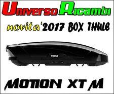 Box Da Tetto Thule Motion XT M NERO Lucido 400 Litri