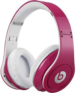 Beats Dr Dre STUDIO WIRED PINK LIMITED ---EDITION headphones BRAND NEW
