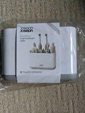 Joseph Joseph Large Toothbrush Caddy - Grey